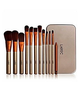 LaRoc 12 Piece Tin Brush Set