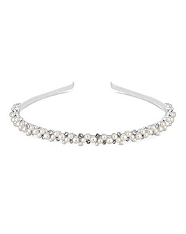 Alan Hannah Pearl Bubble Headband