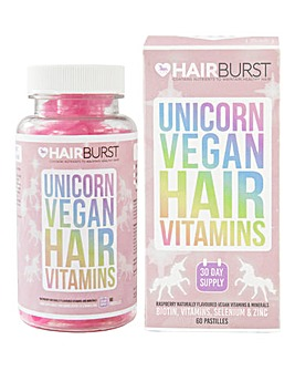 Hairburst Unicorn Vegan Hair Vitamins