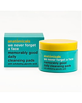 Anatomicals We Never Forget A Face Glycolic Daily Cleansing Pads