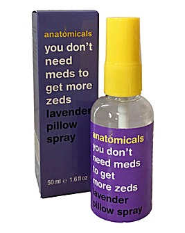 Anatomicals You Don't Need Meds To Get More Zeds Lavander Pillow Spray