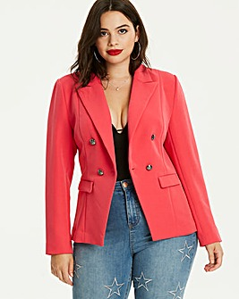 Pink Statement Trophy Blazer