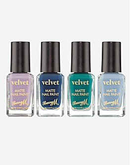 Barry M Velvet Ocean Nail Polish Bundle