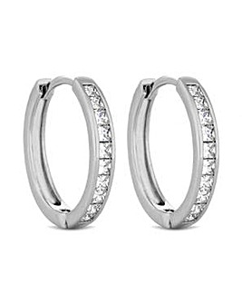 Jon Richard Medium Hoop Earring