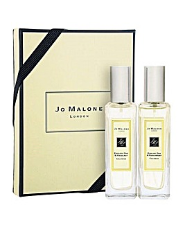 Jo Malone English Oak & Hazelnut and English Oak & Redcurrent 30ml Duo