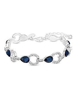 Jon Richard Crystal Montana Bracelet