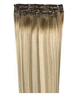 Beauty Works Deluxe Clip in 18inch Scandinavian Blonde Hair Extensions