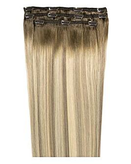 Beauty Works Deluxe Clip in 18inch Scandinavian Blonde Hair Extensions