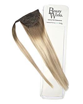 Beauty Works Super Sleek Invisi-Ponytail 18inch Scandinavian Blonde