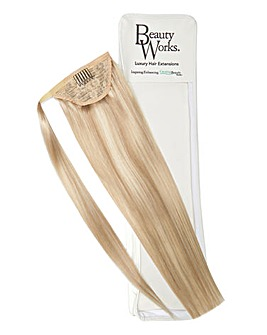Beauty Works Super Sleek Invisi-Ponytail 18inch Champagne Blonde