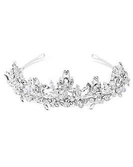 Sophia Bead And Crsytal Statement Tiara