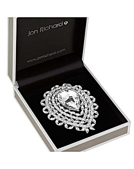 Jon Richard Statement Pear Drop Brooch
