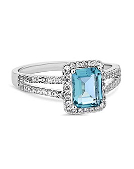 Jon Richard Light Blue Megan Ring