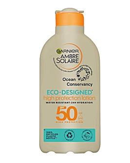 Ambre Solaire Eco Designed Lotion SPF50