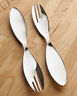 2 Piece Spoon & Fork Party Set