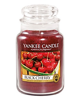 Yankee Candle Black Cherry Large Jar