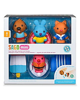 Sago Mini Clean Bath Squirters