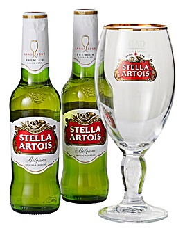 Personalised Stella Artois Set