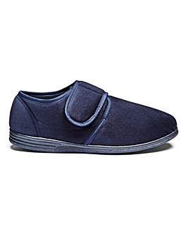 Easy Fasten Slippers Wide Fit