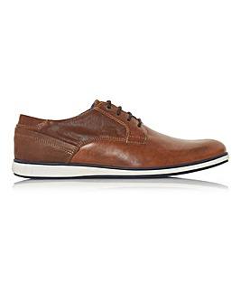 Dune Leather Belugo Gibson Shoes