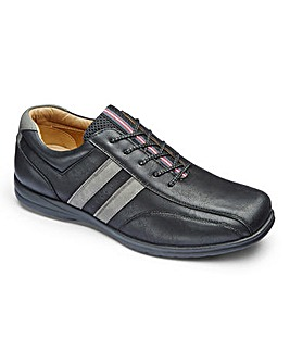 Air Motion Lace Up Casual Shoe Wide Fit