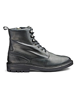 Jacamo Leather Military Boots