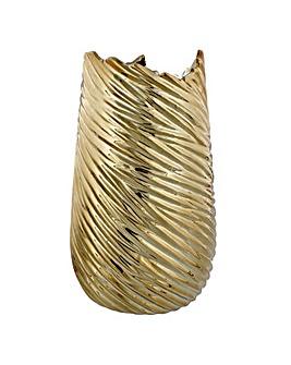 Gold Colour Vase