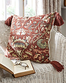 William Morris Lodden Velour Cushion