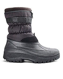 Zip Snow Boot Standard Fit