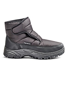 Touch and Close Snow Boots Standard Fit