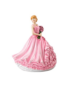 Royal Doulton Figures Rose - I Love You