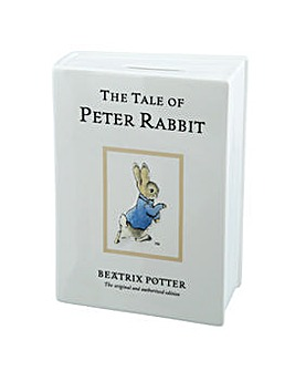 Beatrix Potter Peter Rabbit Money Bank