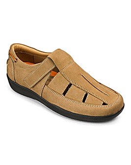 Flex Sandalised Comfort Shoe Extra Wide