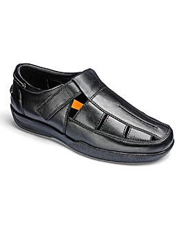 Flex Sandalised Comfort Shoe Extra Wide