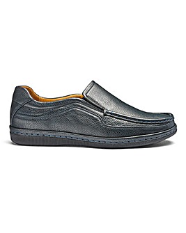 Cushion Walk Comfort Slip On Shoes Wide Fit