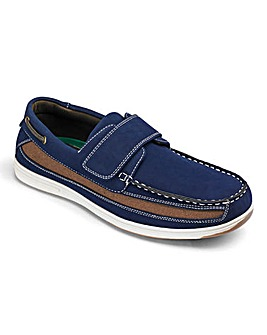Cushion Walk Touch & Close Boat Shoe Standard Fit