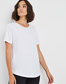 Sustainable White Active T-shirt