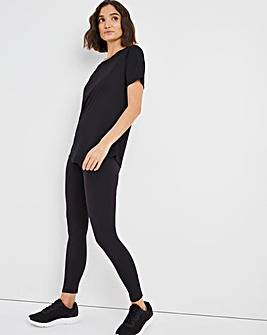 Sustainable Black Active Legging