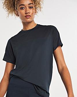 Navy Sustainable Active Mesh T-Shirt