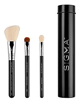 Sigma Essential Trio Brush Set - Black