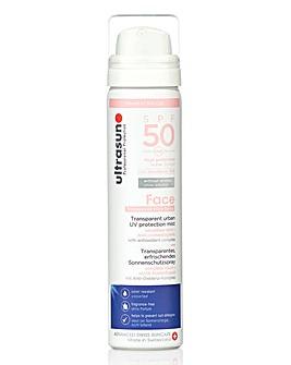 Ultrasun UV Face and Scalp Mist SPF50 75ml