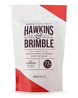 Hawkins & Brimble Revitalising Shampoo Pouch 300ml