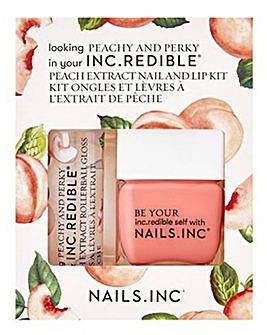 INCredible Peachy and Perky Lips & Nails Duo