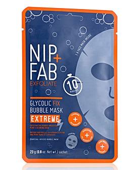 NIP+FAB Glycolic Extreme Bubble Mask