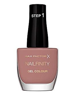 Max Factor Nailfinity X-Press Gel Nail Polish - Standing Ovation 215