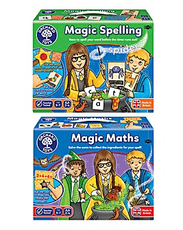Magical Maths & Magical Spelling 2 Pack