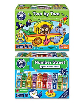 Matching & Counting Puzzle and Game