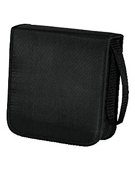 Hama CD/DVD/Blu-ray Wallet/40/Black