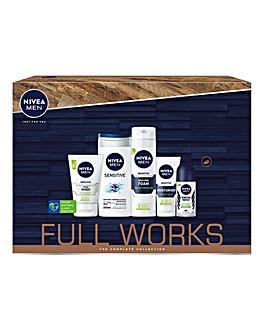 Nivea Men The Full Works Gift Set