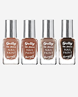 Barry M Nude Nail Bundle
